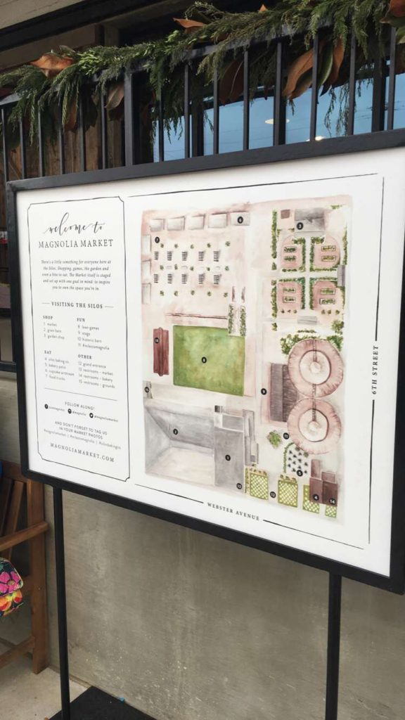 Map of Magnolia - JoAnna Gaines - Wamp Designs
