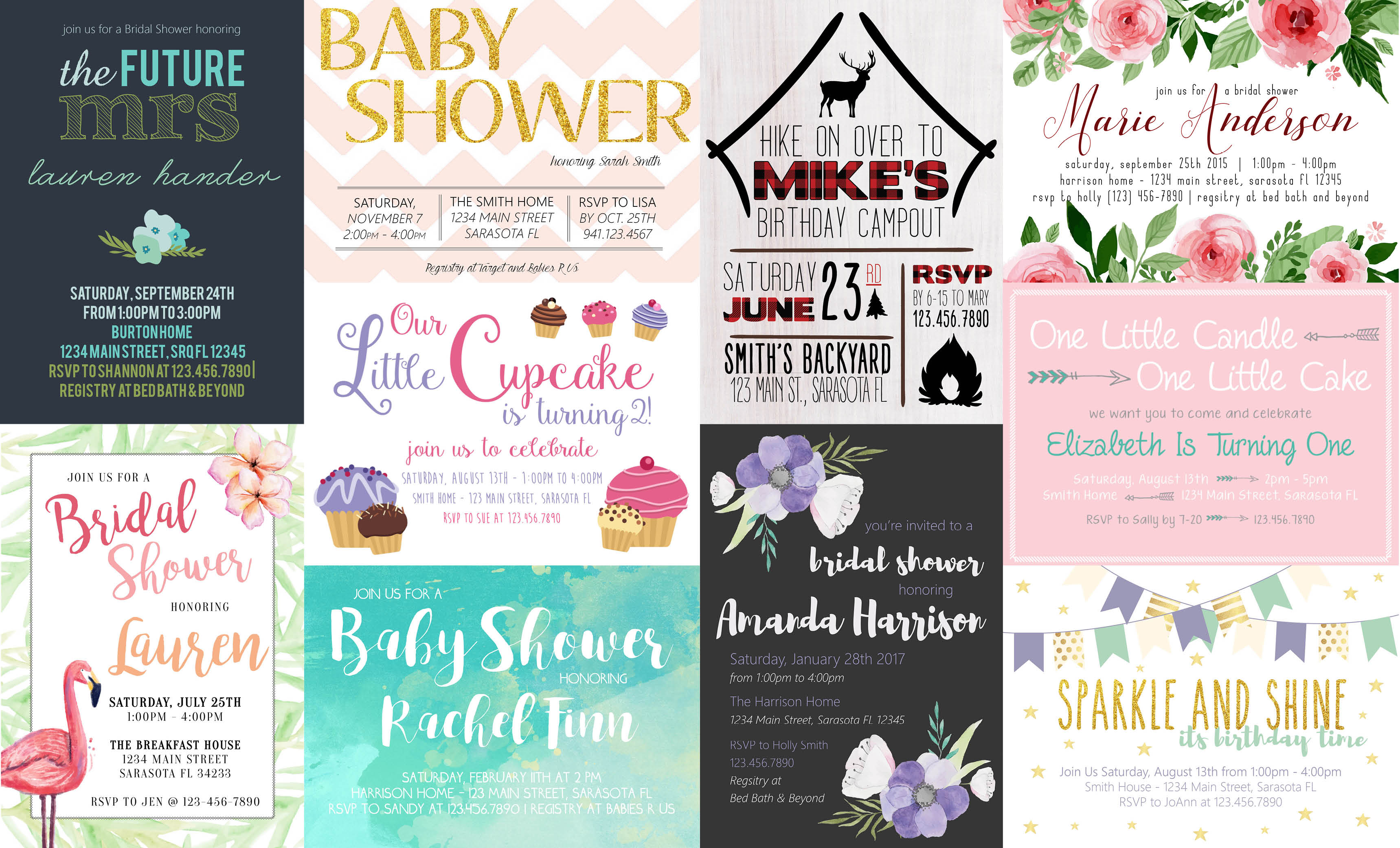 What To {and not to} Include On Your Invitations