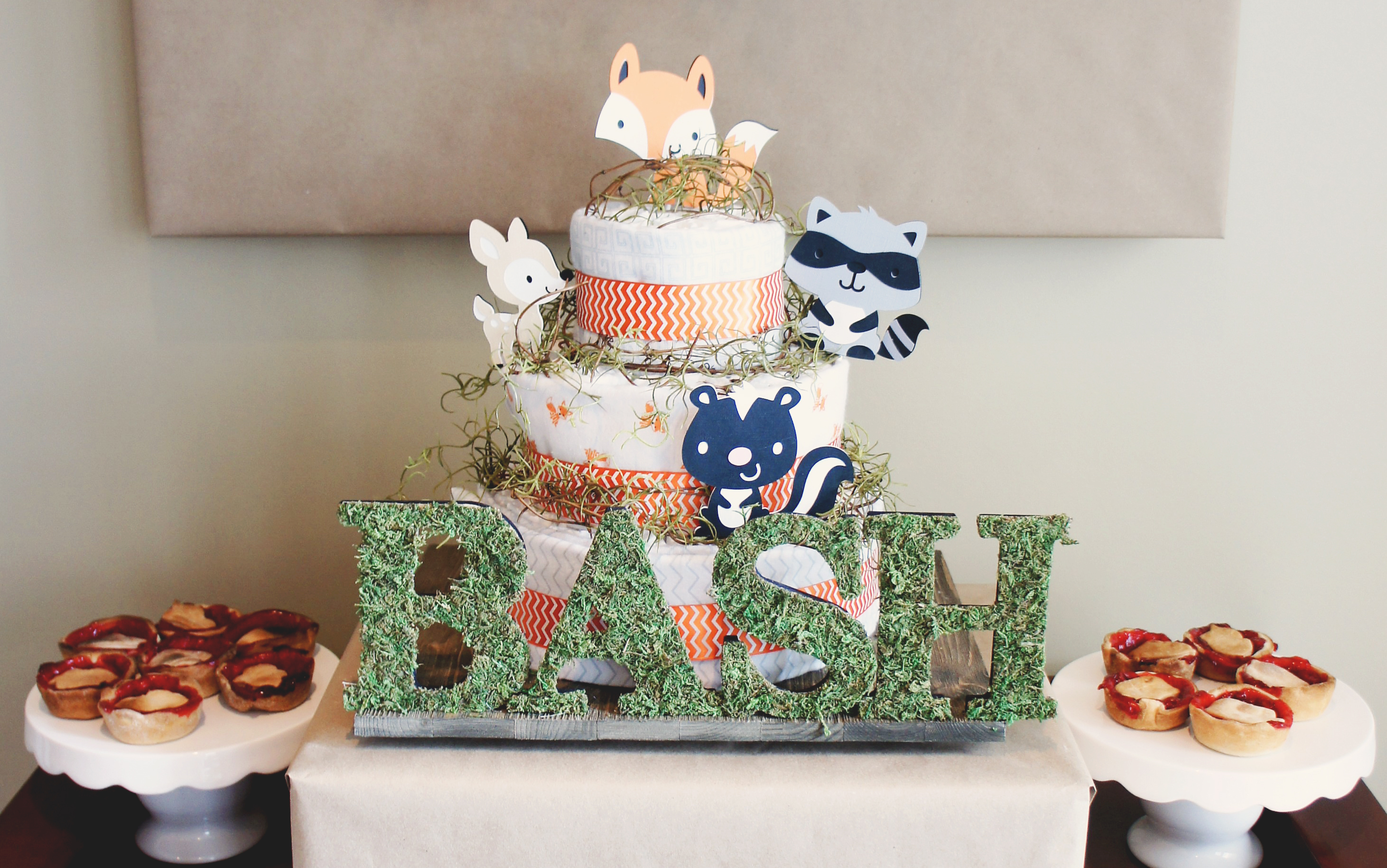 Woodland Baby Shower For Baby Bash