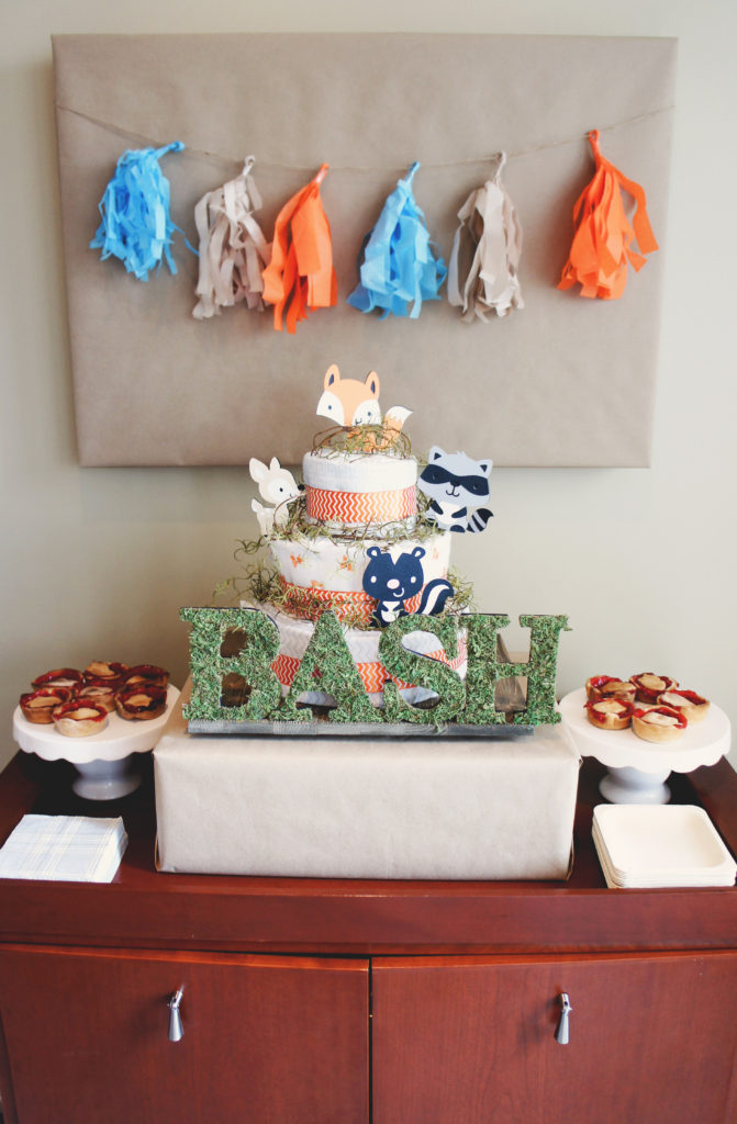 Woodland Theme Baby Shower